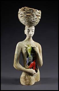Visceral Attraction sculpture by Natasha Dikareva