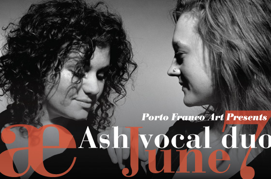Ash Vocal Duo Flier Image